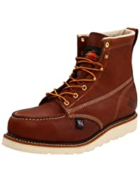 Thorogood Men's American Heritage 804-4200 6-Inch Steel-Toe Work Boot