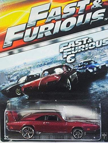 Hot wheels Fast & Furious '69 dodge charger daytona 01/08 Rare movie car diecast fast & furious 6