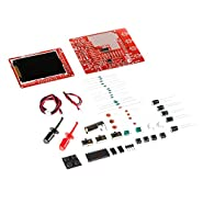 """JYETech 'DSO 138 Mini' Oscilloscope DIY Kit w/Clip Probe by NooElec. Low Cost Portable Digital Storage Oscilloscope with 2.4"""" TFT LCD. Model DSO138 Mini; SKU 13805K"""