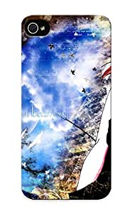 Iphone 5/5s Case Cover - Slim Fit Tpu Protector Shock Absorbent Case (anime Flcl)