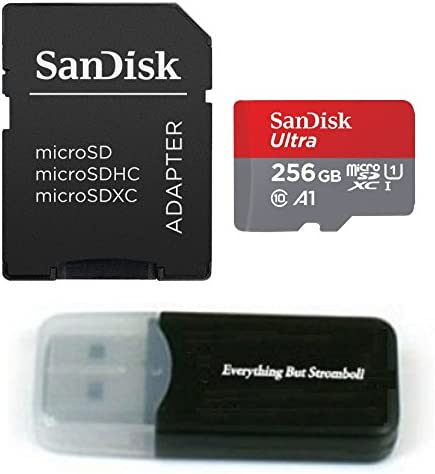 SanDisk 200GB Ultra Micro SDXC Memory Card Bundle Works with Samsung Galaxy Note 8, Note 9, Note Fan Edition Phone UHS-I Class 10 (SDSQUAR-200G-GN6MN) ...