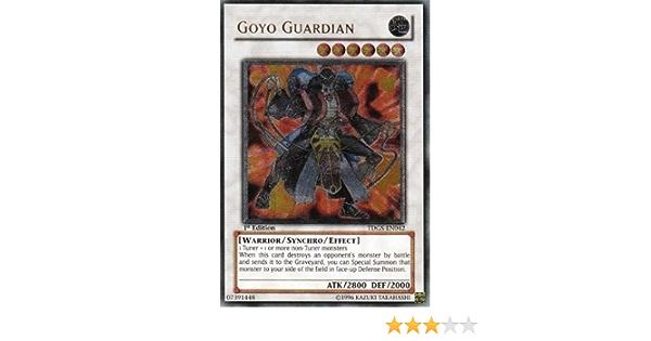 Ultra Yu-Gi-Oh! Goyo Guardian tdgs-en042 Unltd Ed GOOD