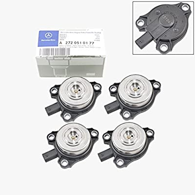 Mercedes-Benz Camshaft Cam Adjuster Magnet Intake / Exhaust Genuine OE (4pcs): Automotive