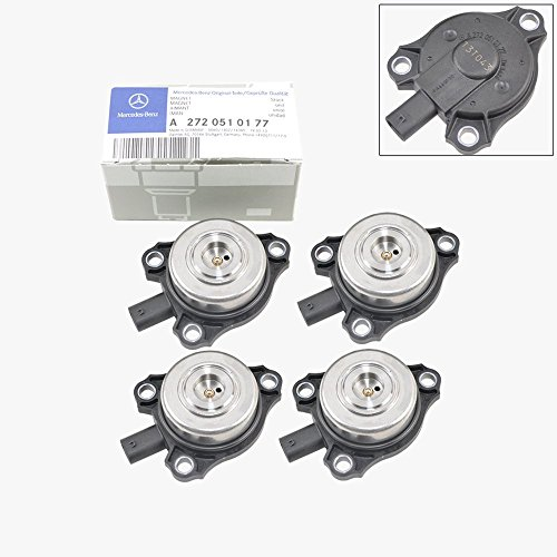 Mercedes-Benz Camshaft Cam Adjuster Magnet Intake / Exhaust Genuine OE (4pcs) (Best Exhaust For Mercedes)