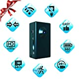 Spy Camera No WiFi Needed - Body Hidden Camera - Mini Spy Camera Motion Activated - Secret Nanny Cam Recorder with HD Video - Portable Stealth Spying Recording Cameras for Home Security Easy to Use