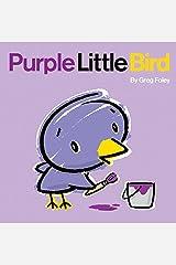 Purple Little Bird Hardcover