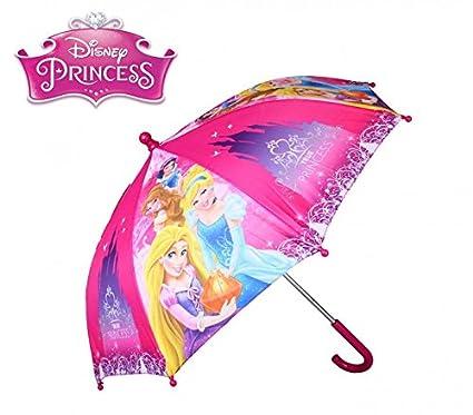 Paraguas para la lluvia para niño y niña con varios personajes y colores 64 cm -