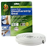 duck brand weather strip seal - Duck Brand 282439 Heavy Duty Self-Adhesive Rubber Weatherstrip Seal for Small