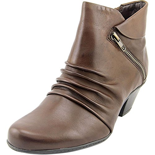 Earth Women's Pegasus: Ankle Boot (Leather/Bark, (Bark Leather Footwear)