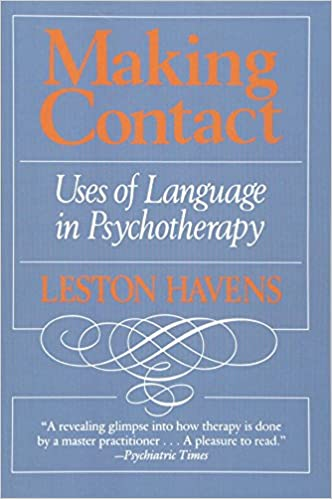 Making Contact: Uses of Language in Psychotherapy: Leston
