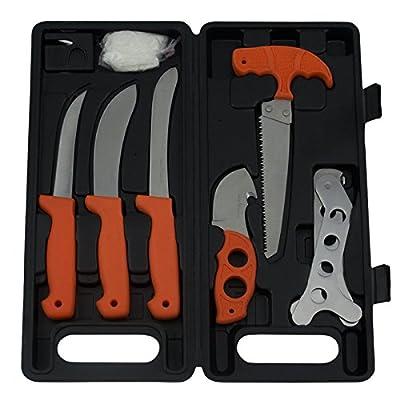 Red Deer® Big Game Field Dressing Kit 8 Piece Kit Hunter Orange