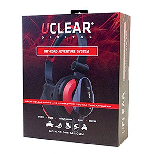UCLEAR Digital Off-Road Adventure Bluetooth Headset Audio System - Dual Kit