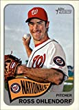 2014 Topps Heritage #13 Ross Ohlendorf - Washington Nationals (Baseball Cards)