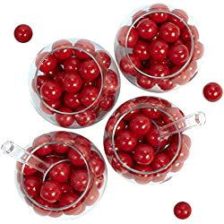 Red Gumball Candy Party Bulk Pack