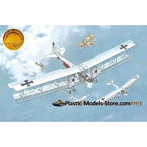 (GOTHA G.IV GERMAN WWI BOMBER AIRCRAFT 1/72 RODEN 011 FREE SHIPPING)