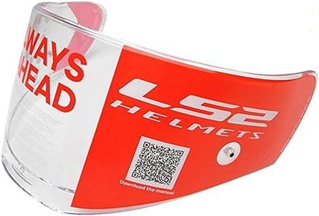 Visiera per caschi modello FF390 antigraffio VCOROS LS2 Breaker ricambio per casco con Pinlock
