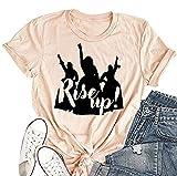 Women's Rise Up Hamilton T Shirts Short Sleeve