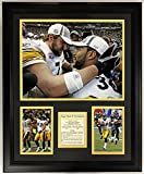 "Legends Never Die NFL 2005 Pittsburgh Steelers Super Bowl XL Champions Framed Double Matted Photos, 18"" x 22"""
