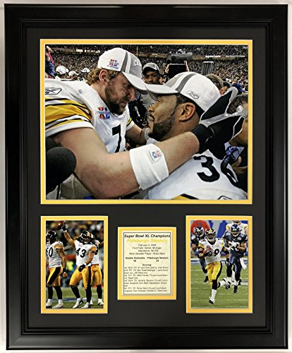 Pittsburgh Photo Framed Steelers (Legends Never Die NFL 2005 Pittsburgh Steelers Super Bowl XL Champions Framed Double Matted Photos, 18