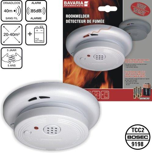 Elro BARM2RF - Detector de humo: Amazon.es: Bricolaje y ...