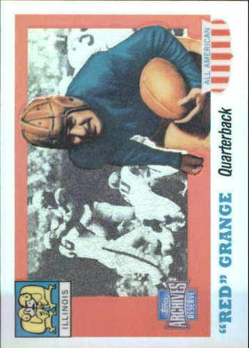 (2001 Topps Archives Reserve Football Card #89 Red Grange Near Mint/Mint)