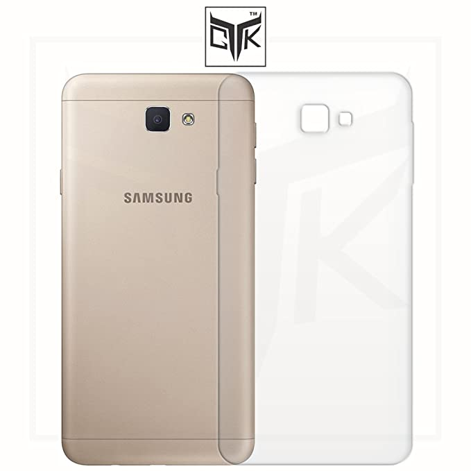 TheGiftKart Ultra Clear Thin Protective Soft TPU Transparent Back Cover for Samsung Galaxy J7 Prime