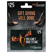LongHorn Steakhouse $25 Gift Card