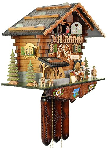 The Bavarian Guesthouse Cuckoo Clock by Adolf Herr 2