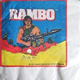 Rambo Vintage 1985 Small Napkins (16ct)