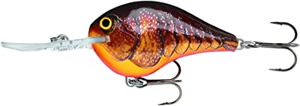 """Rapala Dives To 16 /""""Chartreuse Brown/"""""""