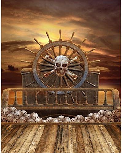 Piratenschiff Foto Hintergrund Hochwertigen Hochformat Kamera