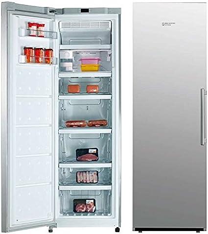 Congelador Vertical Inox Eas Electric EMZ185SX A++ 260L: Amazon.es ...