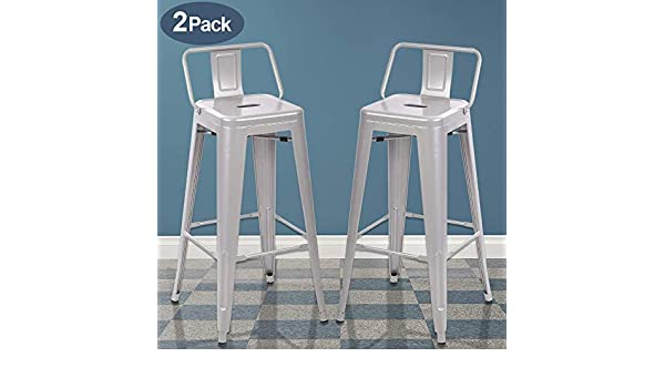 Sensational Amazon Com Counter Height Bar Stools Set Of 2 Bistro Cafe Pabps2019 Chair Design Images Pabps2019Com