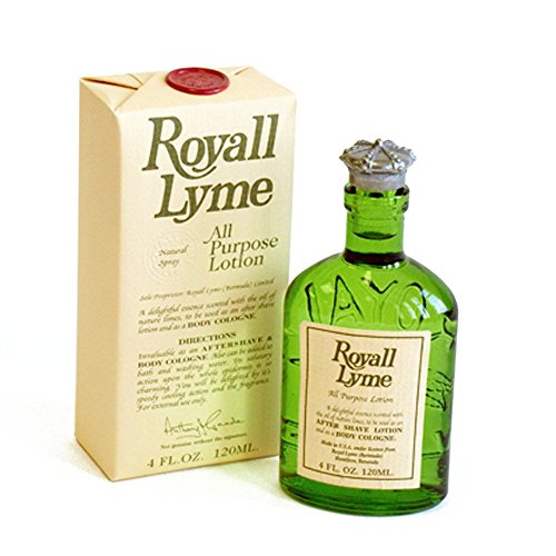 Royall Lyme for Men By Royal Fragrances Cologne/After Shave, 4-Ounce