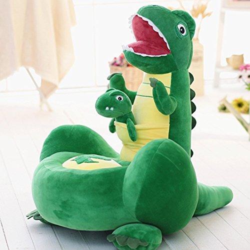 "HIGOGOGO Cartoon Animal Plush Toy Bean Bag Chair Seat for Children, 28""24"" Cartoon Dinosaur Bean Bag Chair,Best Christmas Halloween Birthday Gift for Boys Girls"