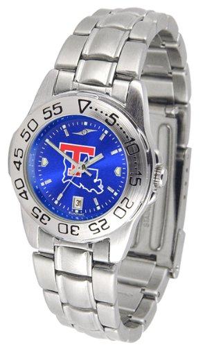 Tech Watch Bulldogs Sport Louisiana (Louisiana Tech Bulldogs Sport Steel AnoChrome Women's Watch)