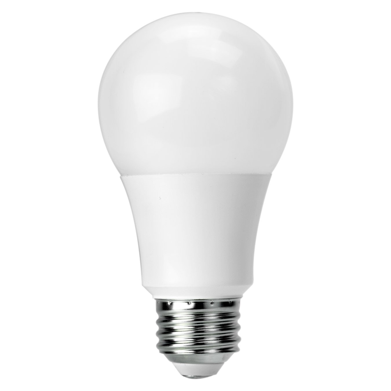 10 Pack LED Omnidirectional A19 Multi-Voltage 8.5W (60W Equivalent) Non-Dimmable 4000K 850L 120-277V