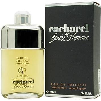 9c7f1b1180e Amazon.com : Cacharel Pour Homme by Cacharel 100ml 3.4oz EDT Spray by  Cacharel BEAUTY : Beauty