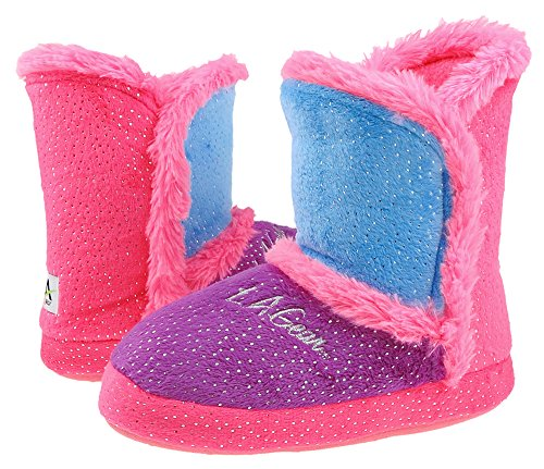 la-gear-color-blocked-soft-boa-girls-boot-with-foil-dots-and-bunny-fur-trim-indoor-slippers-pink-com
