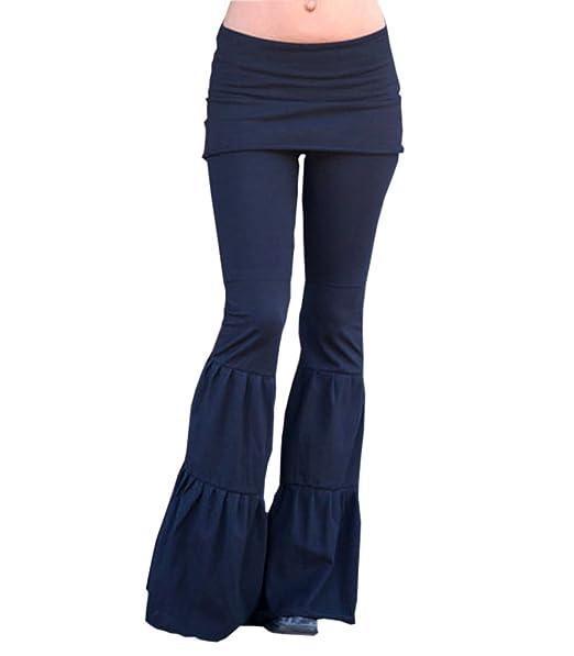 Amazon.com: Onavy mujeres Sexy Bodycon elástico pantalones ...