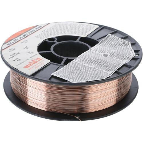 Hobart H305401-R22 10-Pound ER70S-6 Carbon-Steel Solid Welding Wire, 0.024-Inch by Hobart