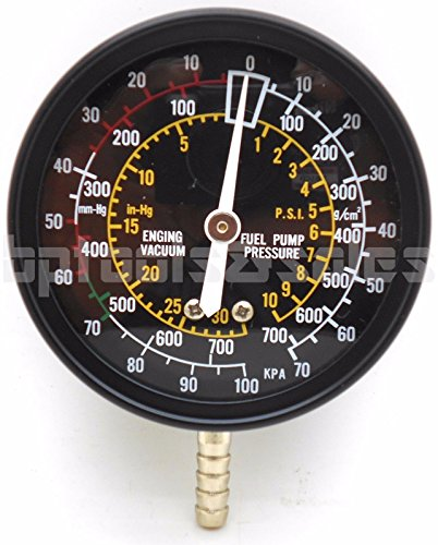 Fuel Pump & Vacuum Tester Accurate Engine Carburetor Valve Gauge Plug Tester (Plug Carburetor)