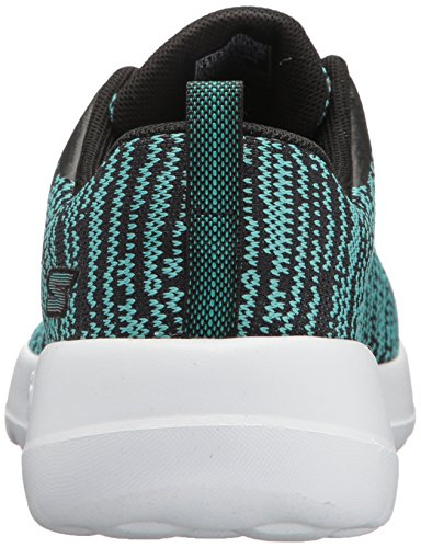 Sneaker Walk Joy Teal Skechers Black Donna Rapture Go Iv5Sw