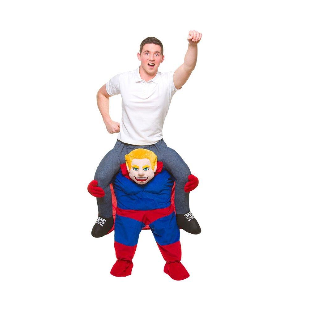 Carry Me® Superheld Erwachsene Kostüm (Eine Größe)