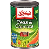 Libby's Peas & Carrots, 15-Ounce Cans (Pack of 12)