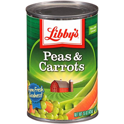 Libby's Peas & Carrots, 15-Ounce Cans (Pack of (Peas & Carrots)