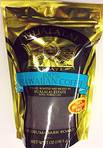 Hualalai Estate Coffee 100% Hawaiian Coffee 7oz Ground