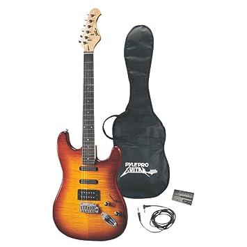 """Profesional acabado de madera de 42 """"Deluxe para guitarra eléctrica"""