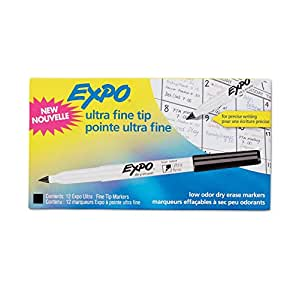 Amazon.com : Expo Ultra Fine Point Dry Erase Markers