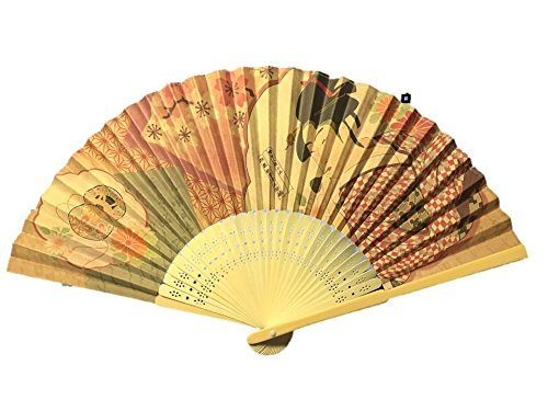 Sensu Folding Fan (utamaro1) by DAISO